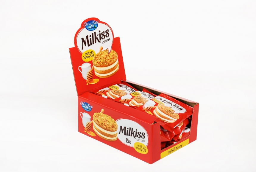 "Honey cake ""Milkiss"""